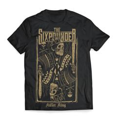"""The Sixpounder - """"KILLER KING"""" T-Shirt"""